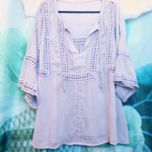 🦋2/$15🦋 Sheer boho blouse